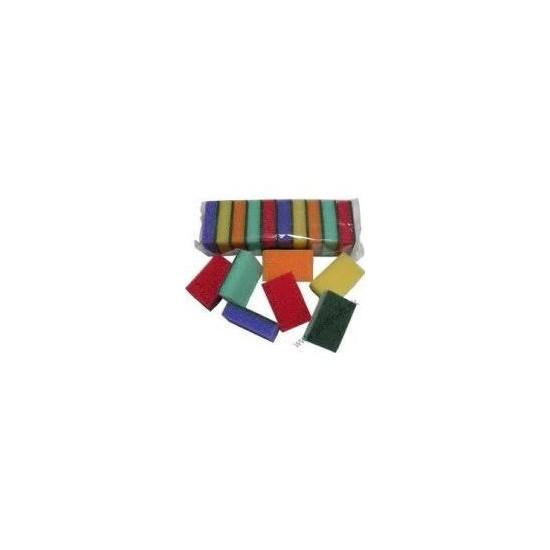 DRT0085 DRT0084 Špongia 10ks 8,1x5,1x2,5 cm balenie JANEGAL
