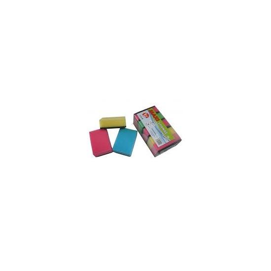 DRT0822 Špongia na riad Maxi 5ks JANEGAL