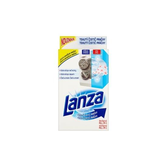 Lanza 250ml tekutý čistič pračky