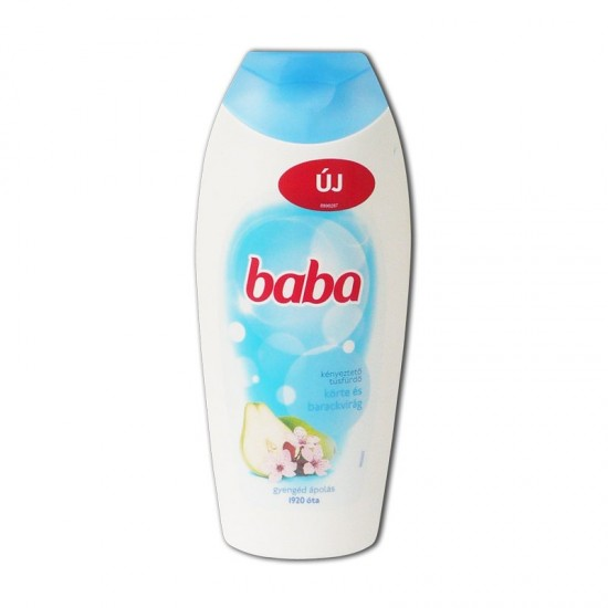 Baba sprchový gél 400 ml Hruška & broskyňový kvet
