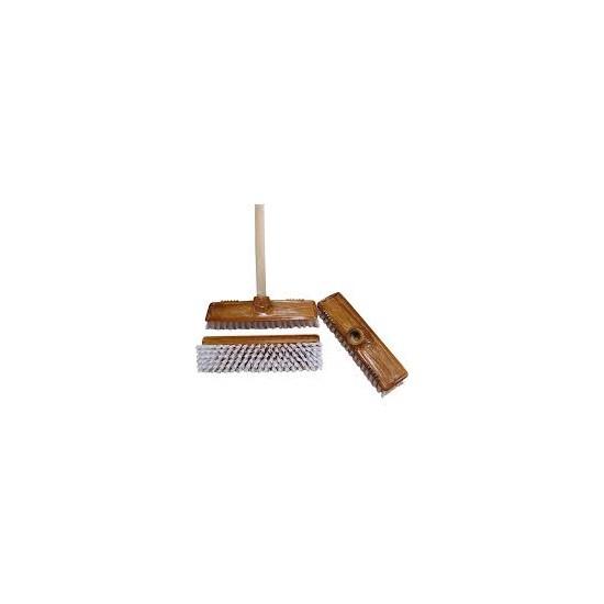 DRT0418 Kartáč na podlahu Top + tyč buková