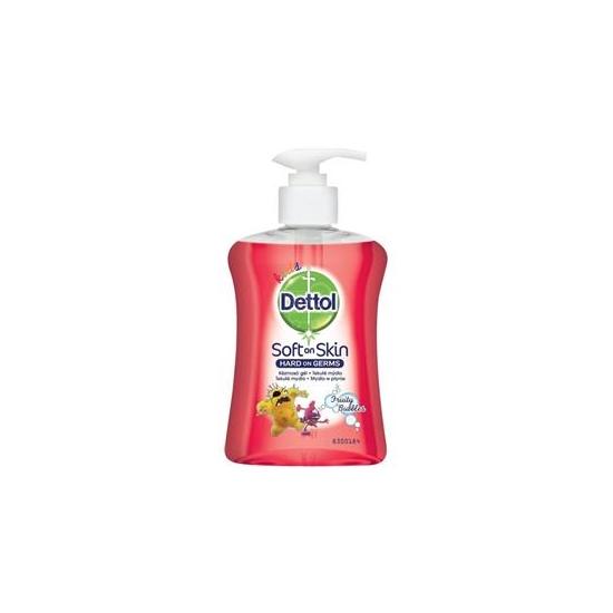 Dettol tek.mydlo 250 ml KIDS ovocné bubl.
