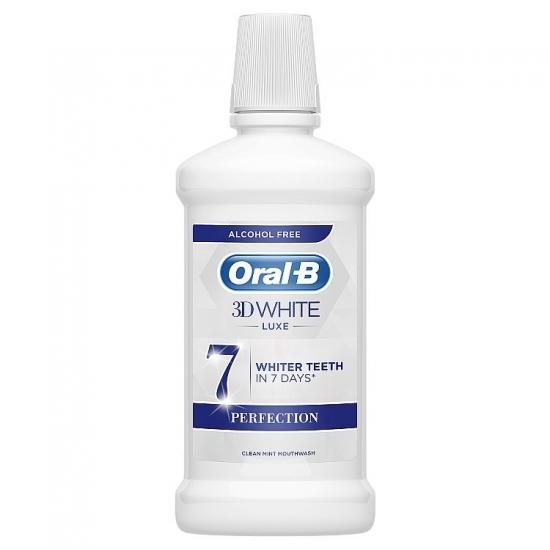 Oral B ústna voda 500ml 3D White Perfection