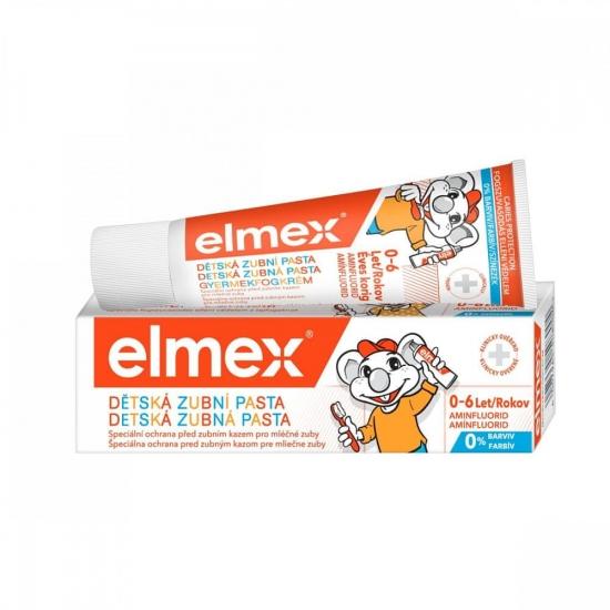 Elmex zubná pasta 50ml kids 0-6r