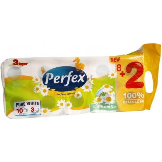 HP Perfex toaletný papier 10ks 3vrstvový Kamilka