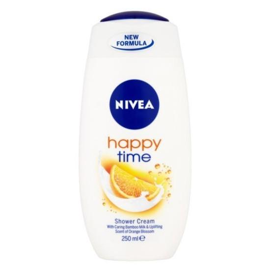 Nivea sprchový gél 250 ml Happy Time / Care & Orange