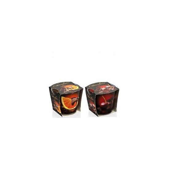 Bartek vonná sviečka 115g Chocolate (Cherry,Orange)